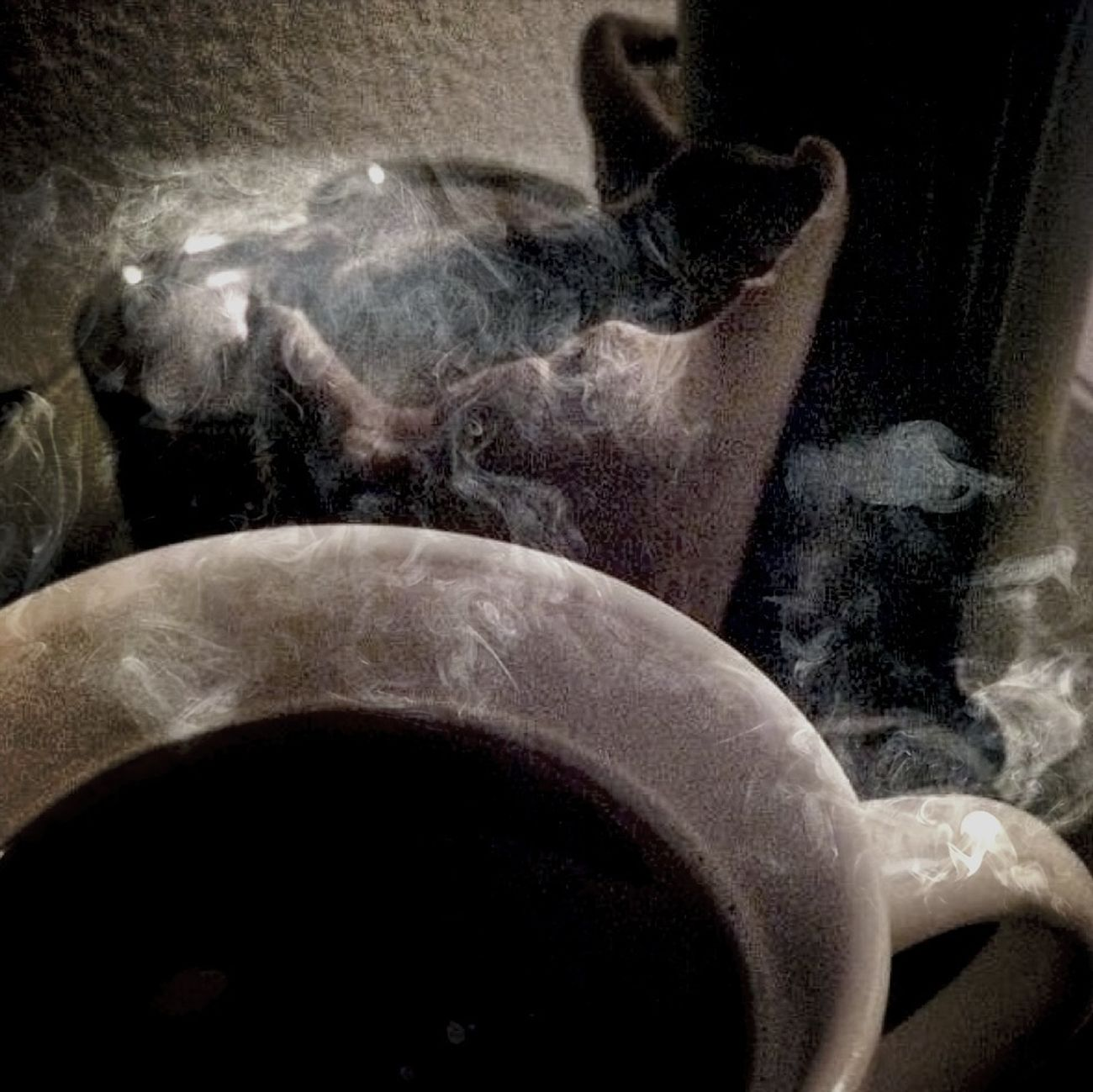 Relaxing It's Tea Time... I Love Rainy Days☔