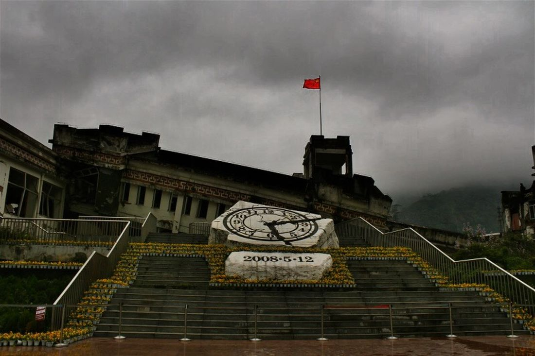 Asian Culture 512 China Wenchuan Earthquake happend in 2008. 5 years later. I take this photo at Wenchuan.