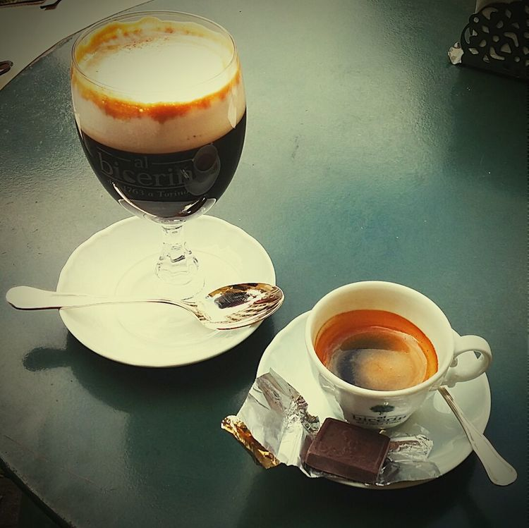 Erasmus Photo Diary day 21: day trip to Turin 2, trying the local beverage Bicerin