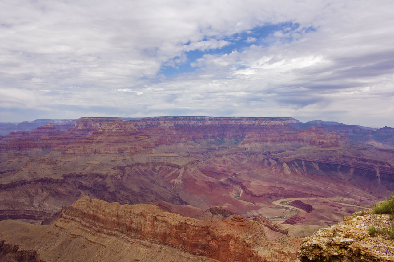 Grand Canyon Grand Canyon National Park Grand Canyon, South Rim Beauty In Nature Cloud - Sky Day Geology Grand Canyon Az Idyllic Landscape Mountain Mountain Range Nature No People Outdoors Physical Geography Rock - Object Rock Formation Scenics Sky Tranquil Scene Tranquility Travel Destinations