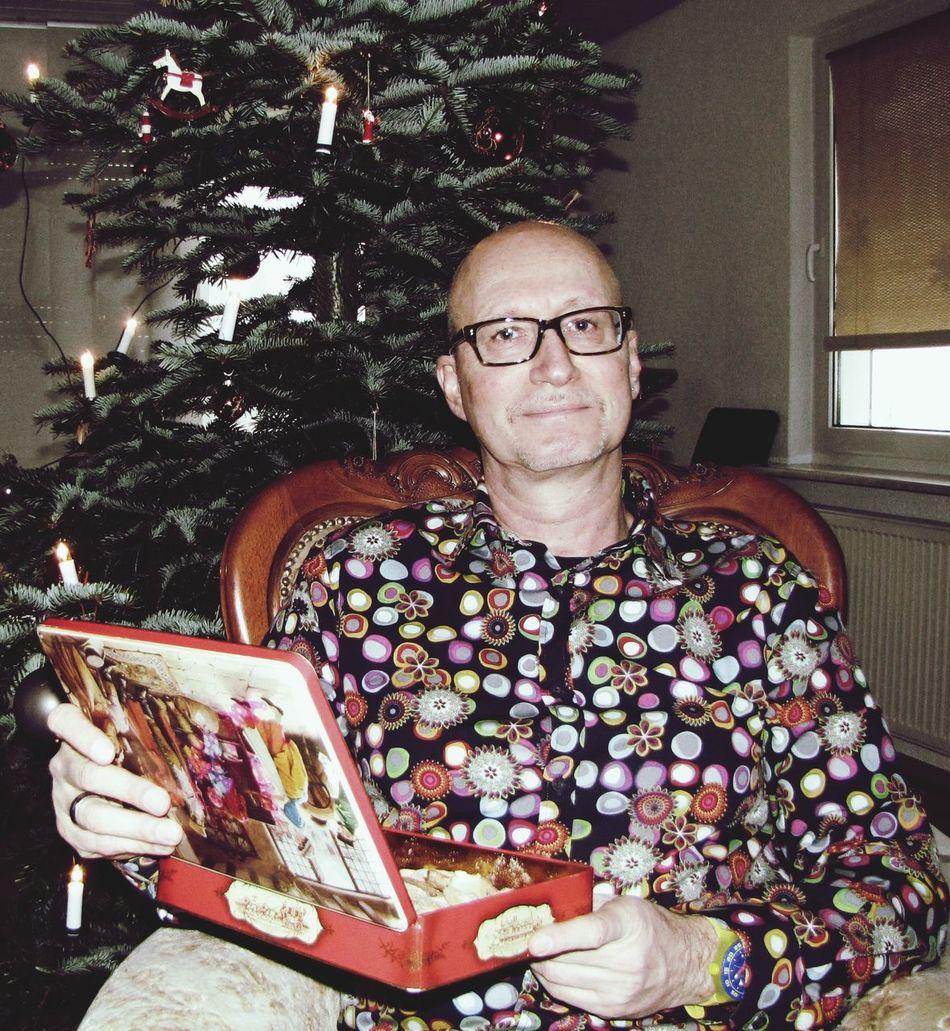 Weihnachtsfoto Christmaspicture Christbaum Keksdose