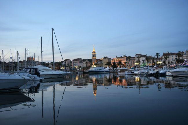 Sanary Sur Mer Harbour View Cityscape Water Reflections Reflections City Lights EyeEm Best Shots