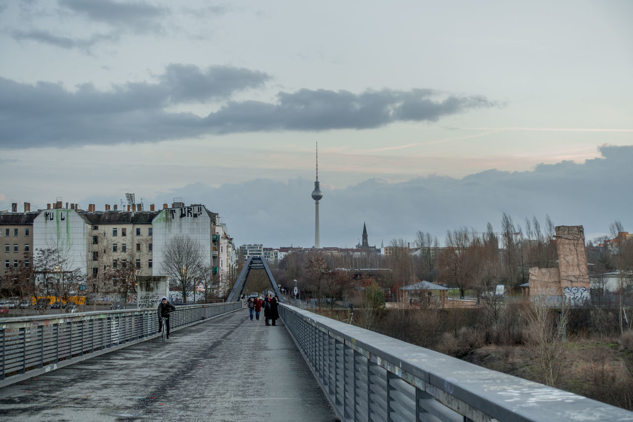 Berlin Bridge Brücke Landscape Tvtower Tvtower #berlin #alexanderplatz Tvtowerberlin Winter Winterscapes Wintertime