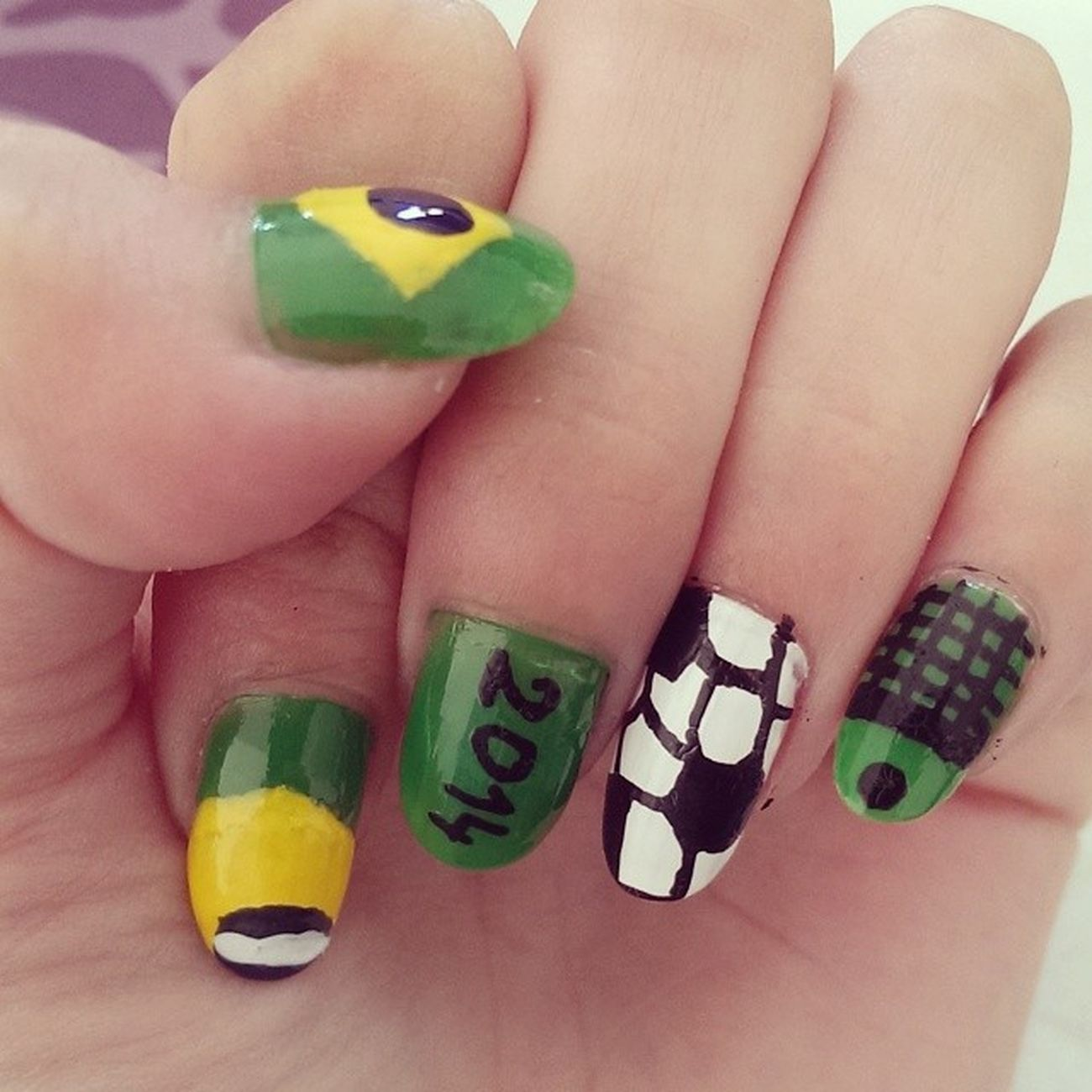 Coupe du monde nails Nails Nailart  Coupedumonde CDM WLNA coupedumondenailart ⚽?