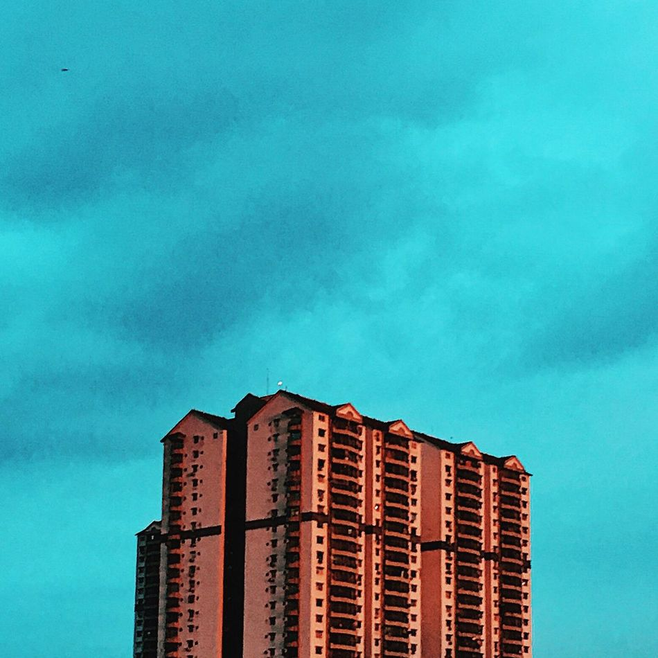 Architecture Building Exterior Low Angle View Built Structure Sky Skyscraper Window Blue Day Outdoors Modern No People City Apartment Nature