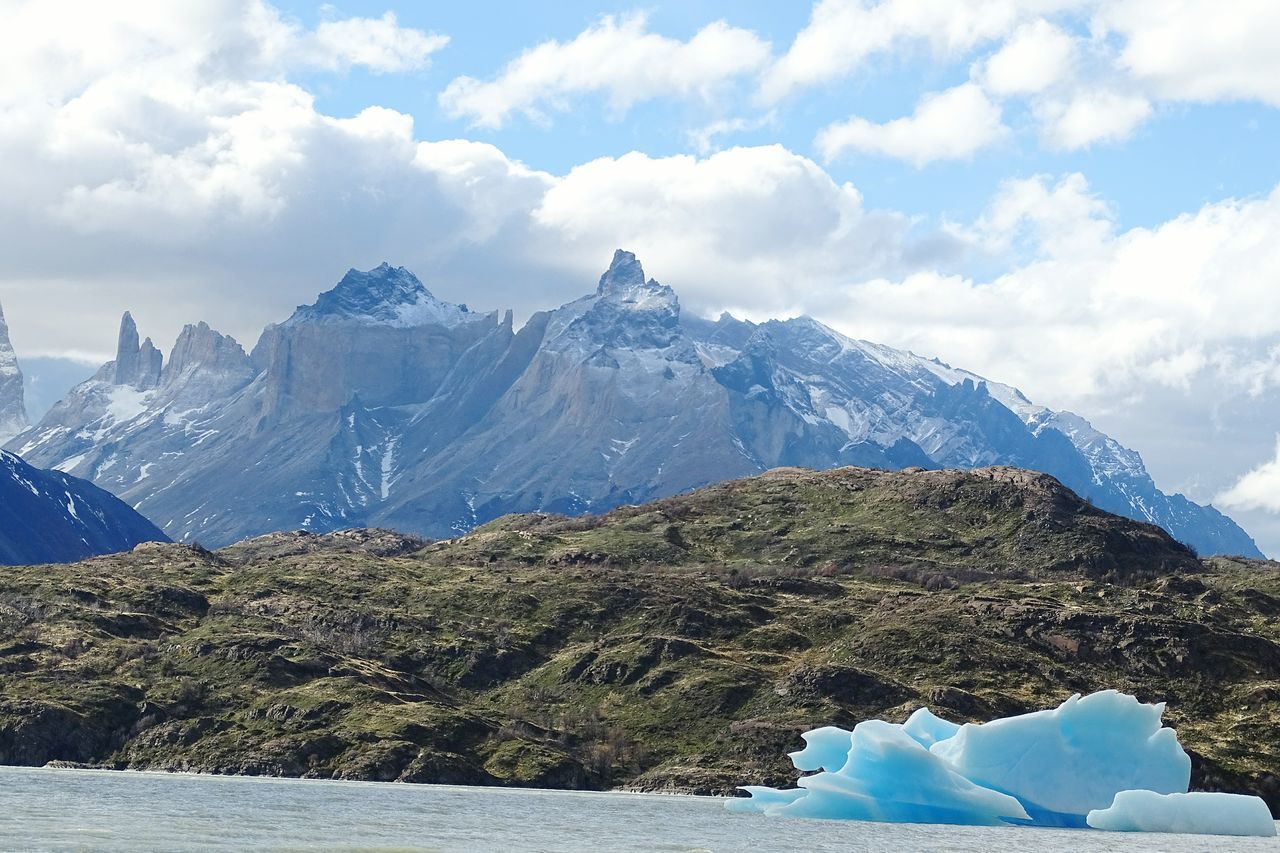 Icebergs Snow Tranquil Scene Scenics Mountain Winter Sky Weather Season  Cold Temperature Beauty In Nature Majestic Tree Cloud - Sky Tranquility Mountain Range Nature Non-urban Scene Day Outdoors Mountain Peak Chile♥