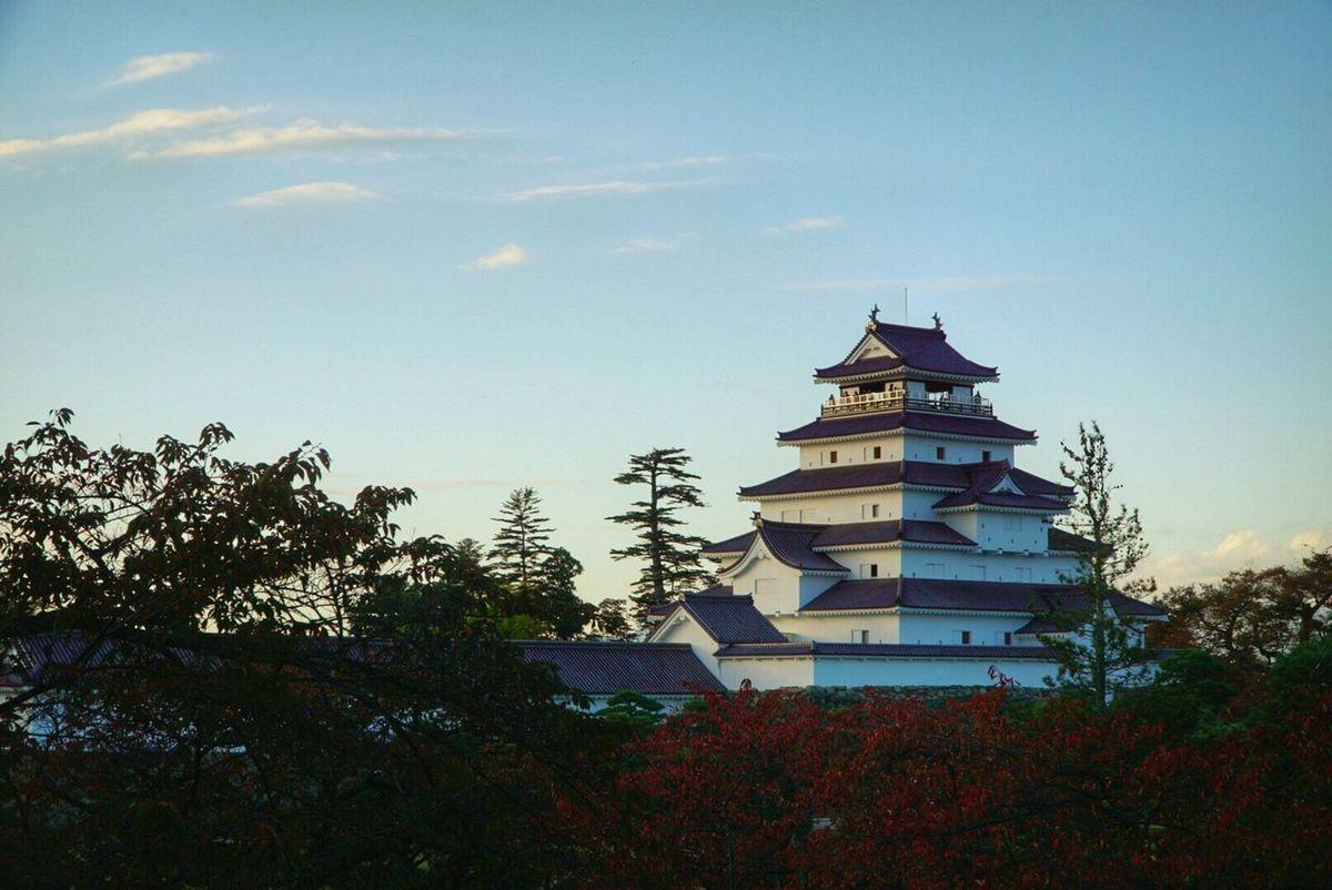 FUKUSHIMA Aizu Tsuruga Castle Sky Autumn Sunset Castle Aizuwakamatsu Sony A6000 ファインダー越しの私の世界 カメラ好きな人と繋がりたい 写真撮ってる人と繋がりたい 写真好きな人と繋がりたい
