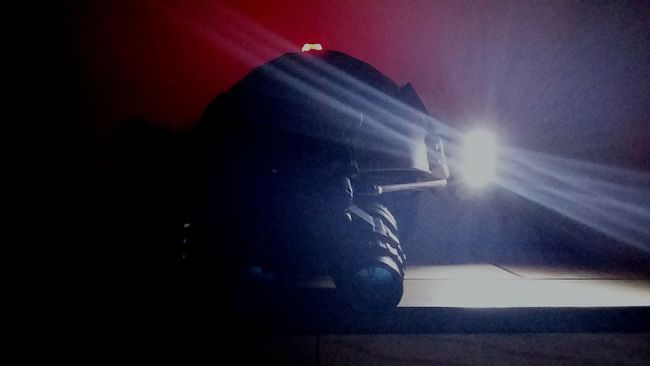 Illuminated Amazing Helmet Casque Fight Night Flash Light YOLO! Thats Life Tacticalflashlight Tactical Hi!