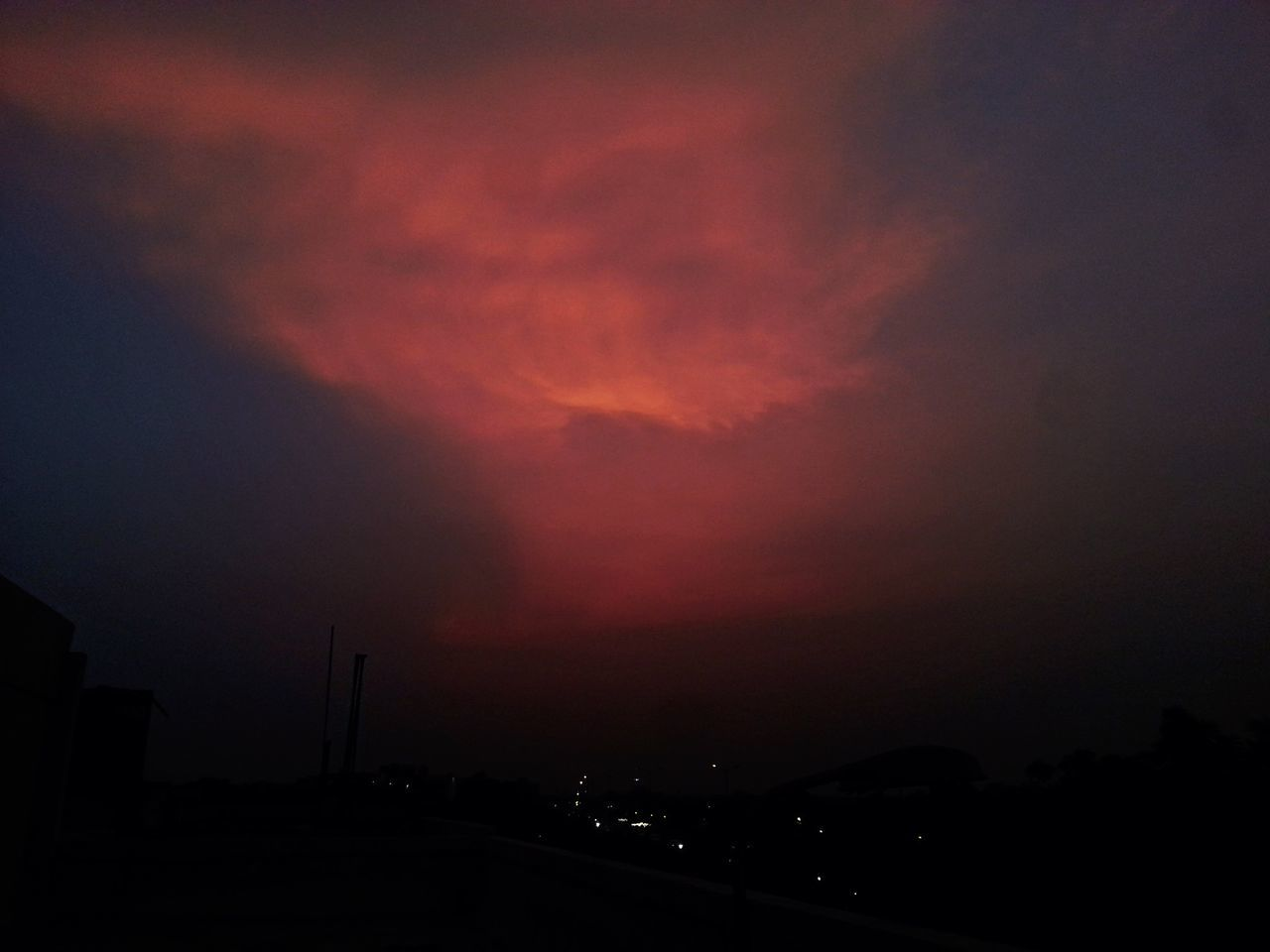 There is something terribly perplexing about that evening orange Dusky Sky Evening Sky Sunset Nature Sky_collection