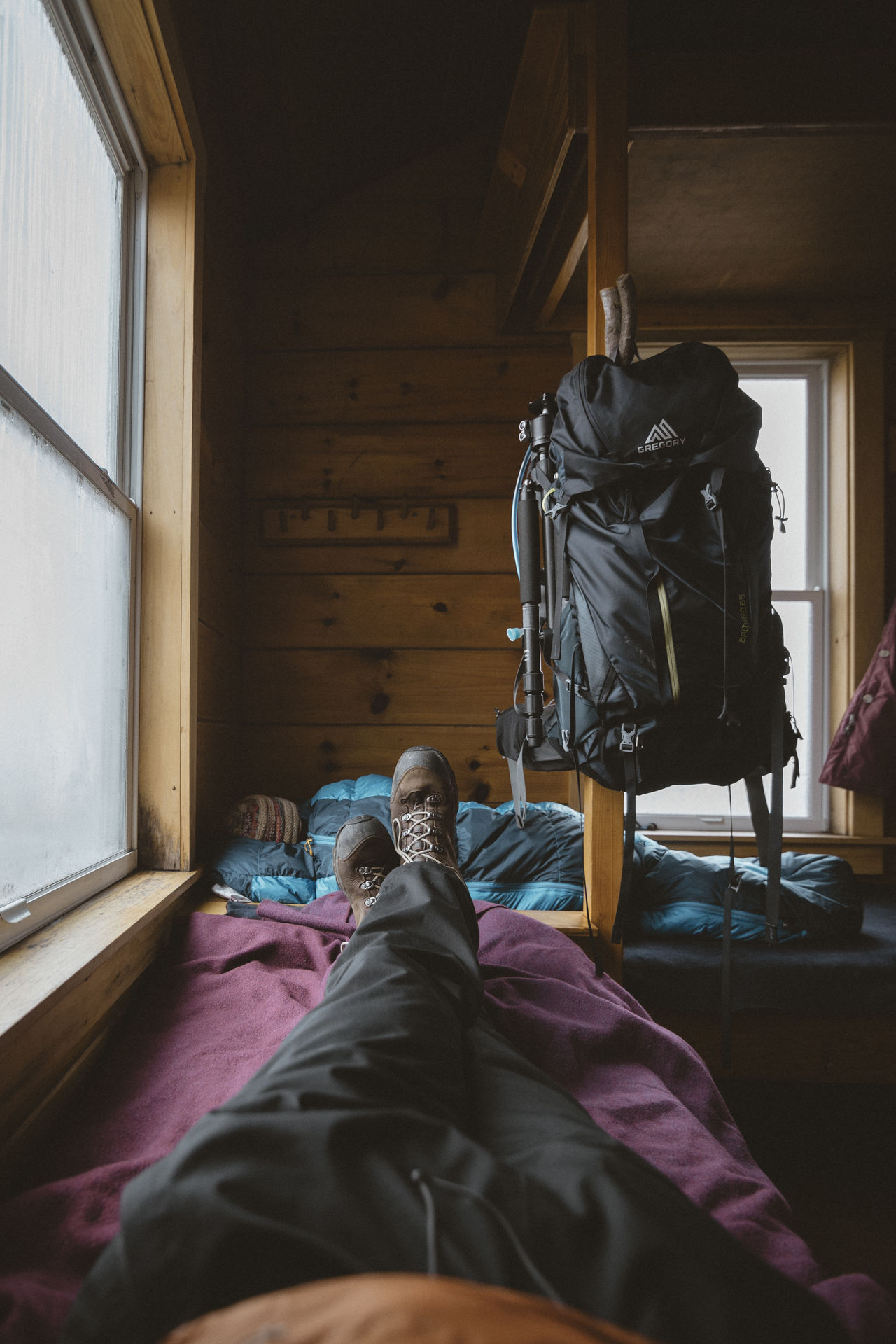Letting her sleep a few minutes longer before we start the day of hiking. Lakes of the Clouds Hut, New Hampshire Backpack Backpacking Bed Cabin Cozy Cozy Place Folk Hut Indoors  Leisure Activity Lifestyles New Hampshire Relaxation Togetherness White Mountain National Forest