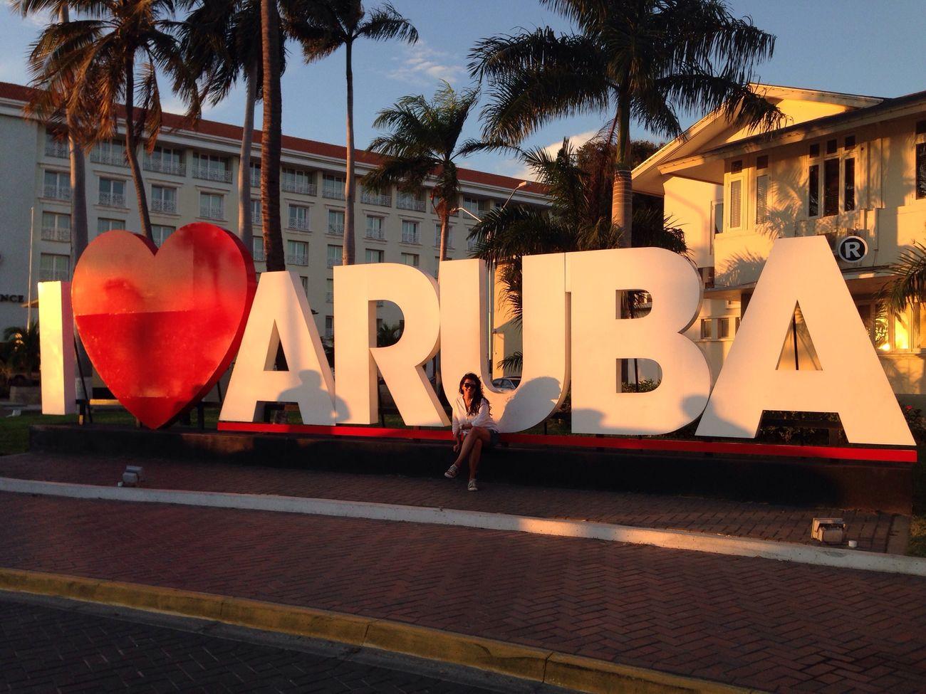 I ❤️ ARUBA one Happy Island Street Photography Aruba Traveling Walking Around Iphoneonly IPhoneography