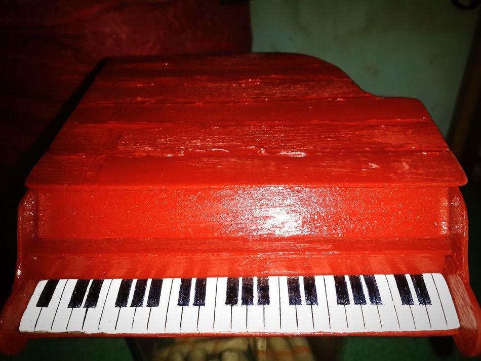 My Piano Handmade Myhobby Redpiano Toy Piano Toy Photography EyeEm Best Shots Photooftheday Eyeem Popular Photos