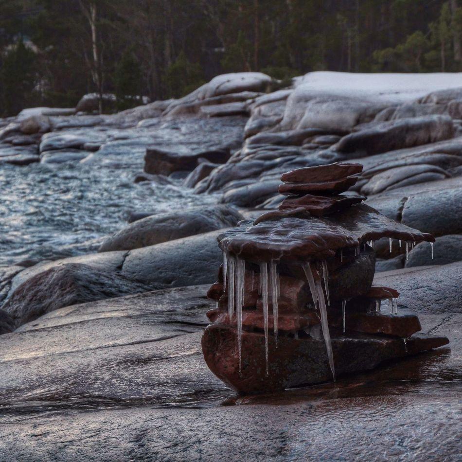 Nature Landscape Sculpture Winter