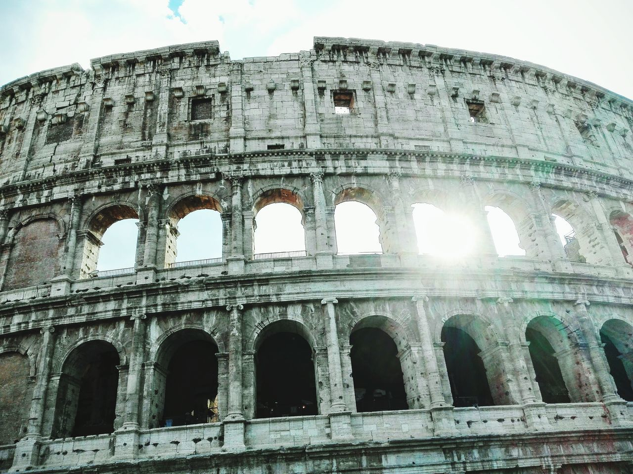 Rome wasn't build in a day. Architecture Sky Tourism Travel Destinations Built Structure City Ancient Civilization Ancient Colosseo, Rome,Fuji X Colosseum Rome Rome Italy Italy🇮🇹 Italia Photography No People Photooftheday Cloud - Sky Photographer Photographic Memory Followme Photograph Artistic Art My Year My View