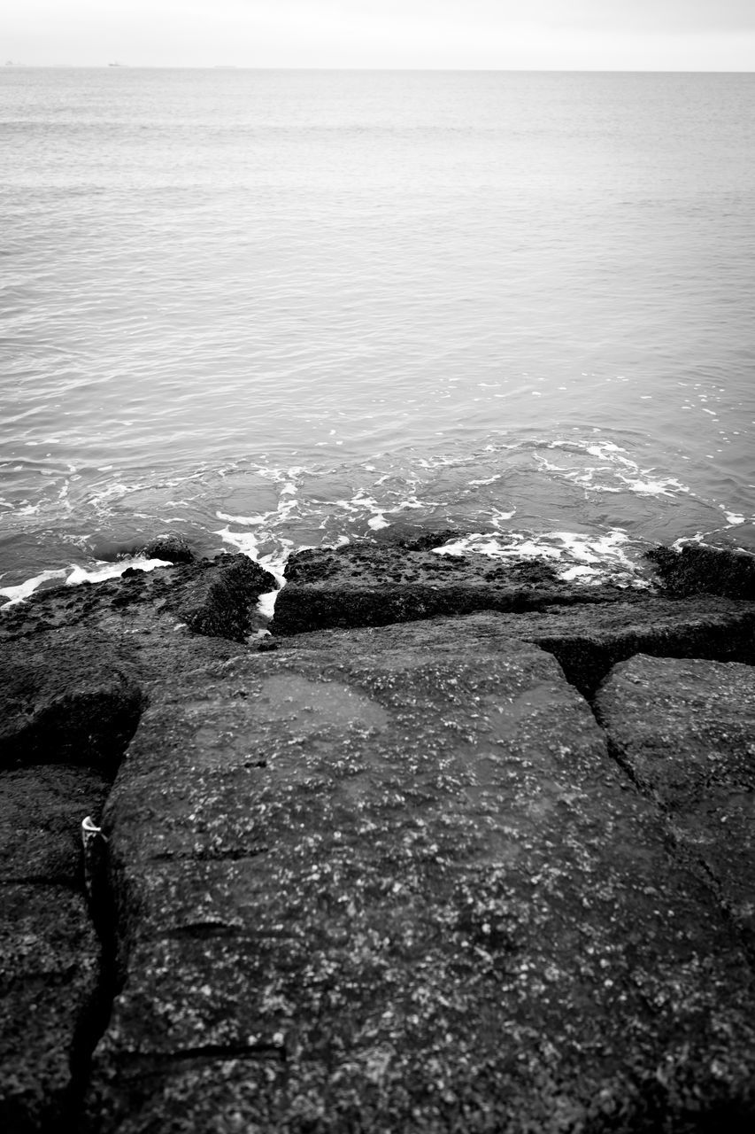 water, sea, nature, beauty in nature, outdoors, scenics, tranquil scene, day, horizon over water, wave, no people, tranquility, sky