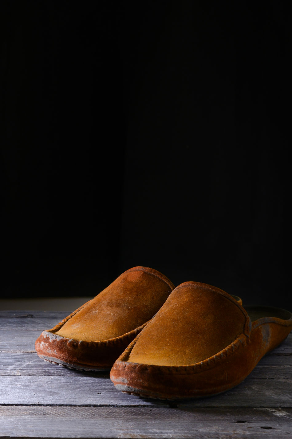 Brown Close-up Leather Shoes Shoes Still Life Studio Shot