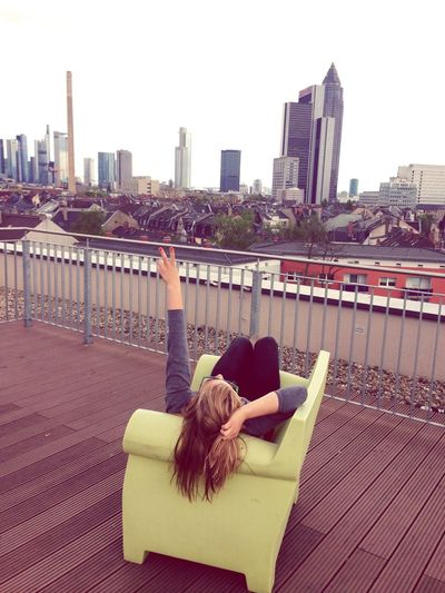 Skyline Ffm Urban Life
