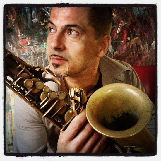 The Portraitist - 2014 EyeEm Awards Musicians Jazz Portrait Rosario Giuliani