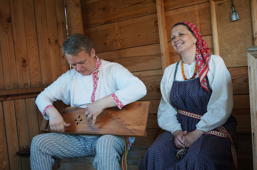 Performers show their traditional music and song to us during visit. @2016 EyeEm Diversity Travel Memory EyeEm Performance Traditionalmusic Russia Rural Life