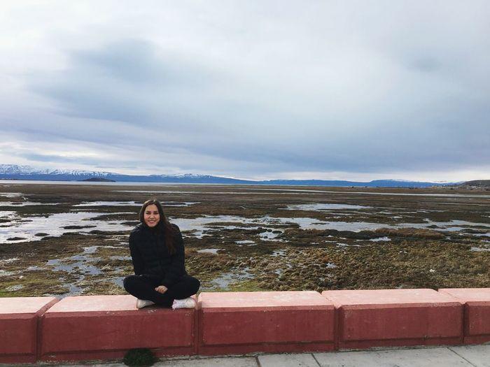 El Calafate Patagonia Argentina Patagonia Invierno Invierno 2017 Lago Argentino Argentina