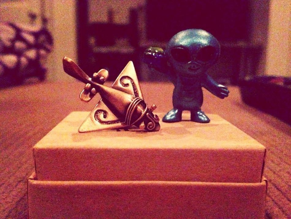 Yep this just happened :D Ancient Aliens