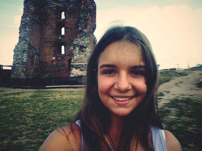 That's Me Ancient Ruins Smile