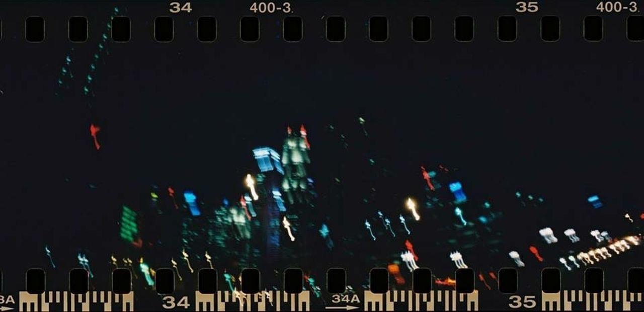 Lomography Sprocket Rocket Panorama Film Film Photography Filmisnotdead Night Lights Singapore Sprocket