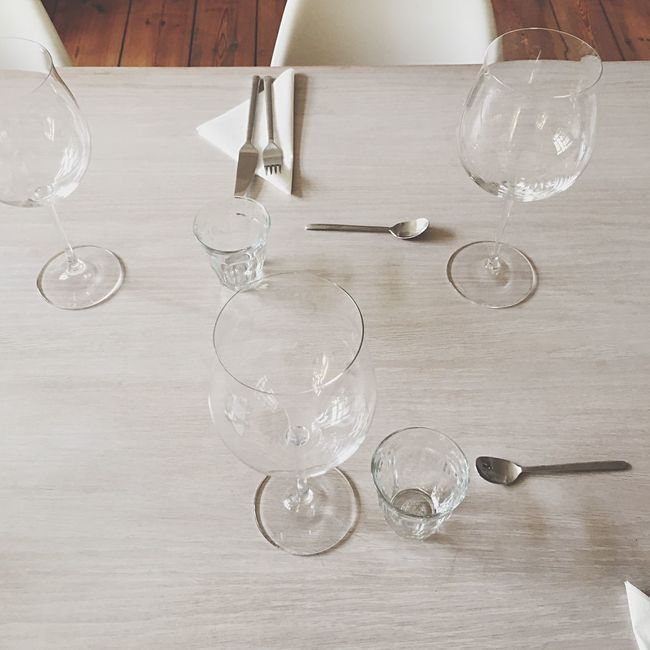 Table Eating Dinner Supper Food Lunch Friends Table Top Starter Waiting Fest Glasses Glass Knife Dish Napkin Napkins Drinks Drink