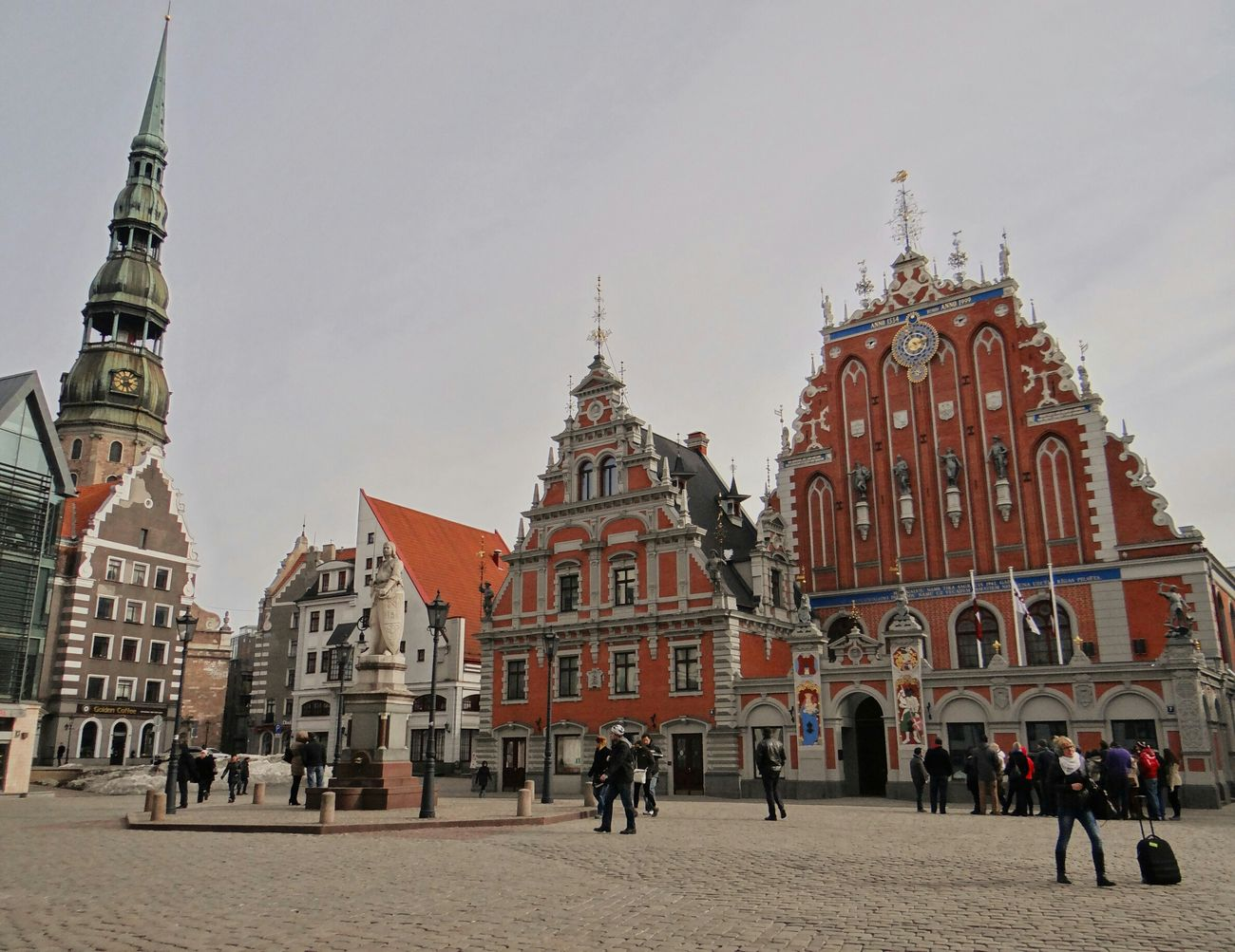 Latvia Riga Vecriga Square Old Architecture Architecture Pretty Hello World Check This Out