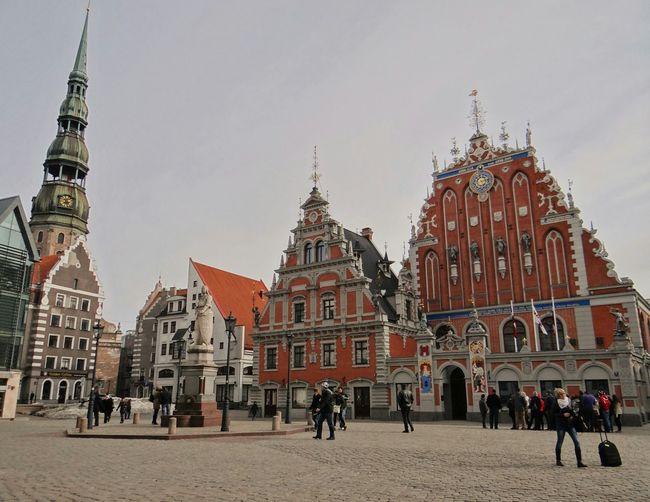 Latvia Riga Vecriga Square Old Architecture Architecture Pretty Hello World Check This Out
