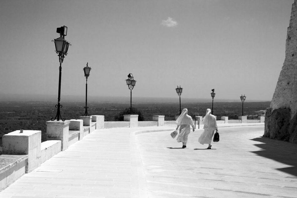 Beautiful stock photos of path, Catholicism, Day, Full Length, Horizon Over Water