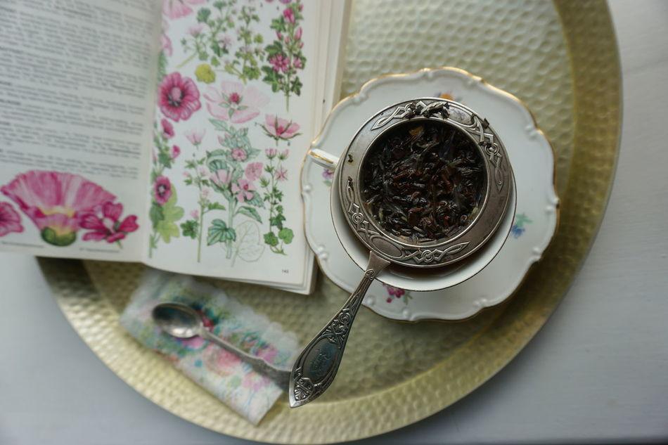 Tea time Book Botany Hot Drink Relax Tea Tea - Hot Drink Tea Time