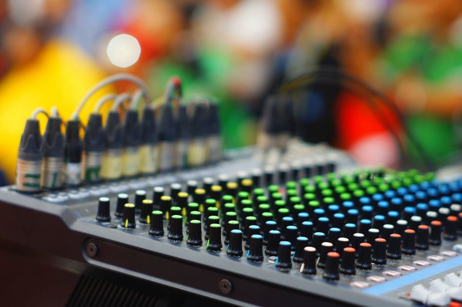 Totol Lieblingsteil Sound Mixer Music Technology Sound Recording Equipment Control Electronics Industry Mixing Close-up Equipment Control Panel Electrical Equipment Occupation Arts Culture And Entertainment Colourful Favoritethings Istockphoto Eyeem Market Week On Eyeem EyeEm Indonesia Bali, Indonesia