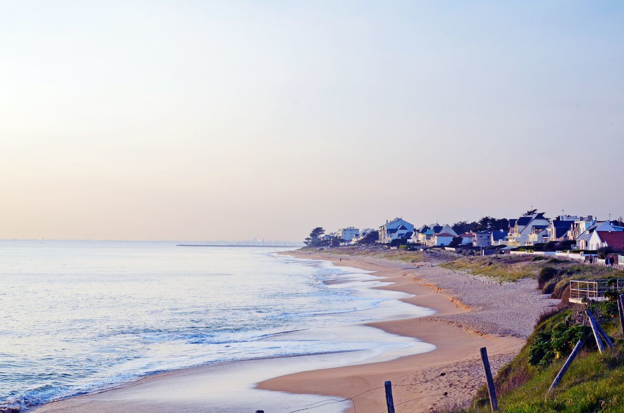 Beautiful stock photos of france, Beach, Beauty In Nature, Calm, Clear Sky