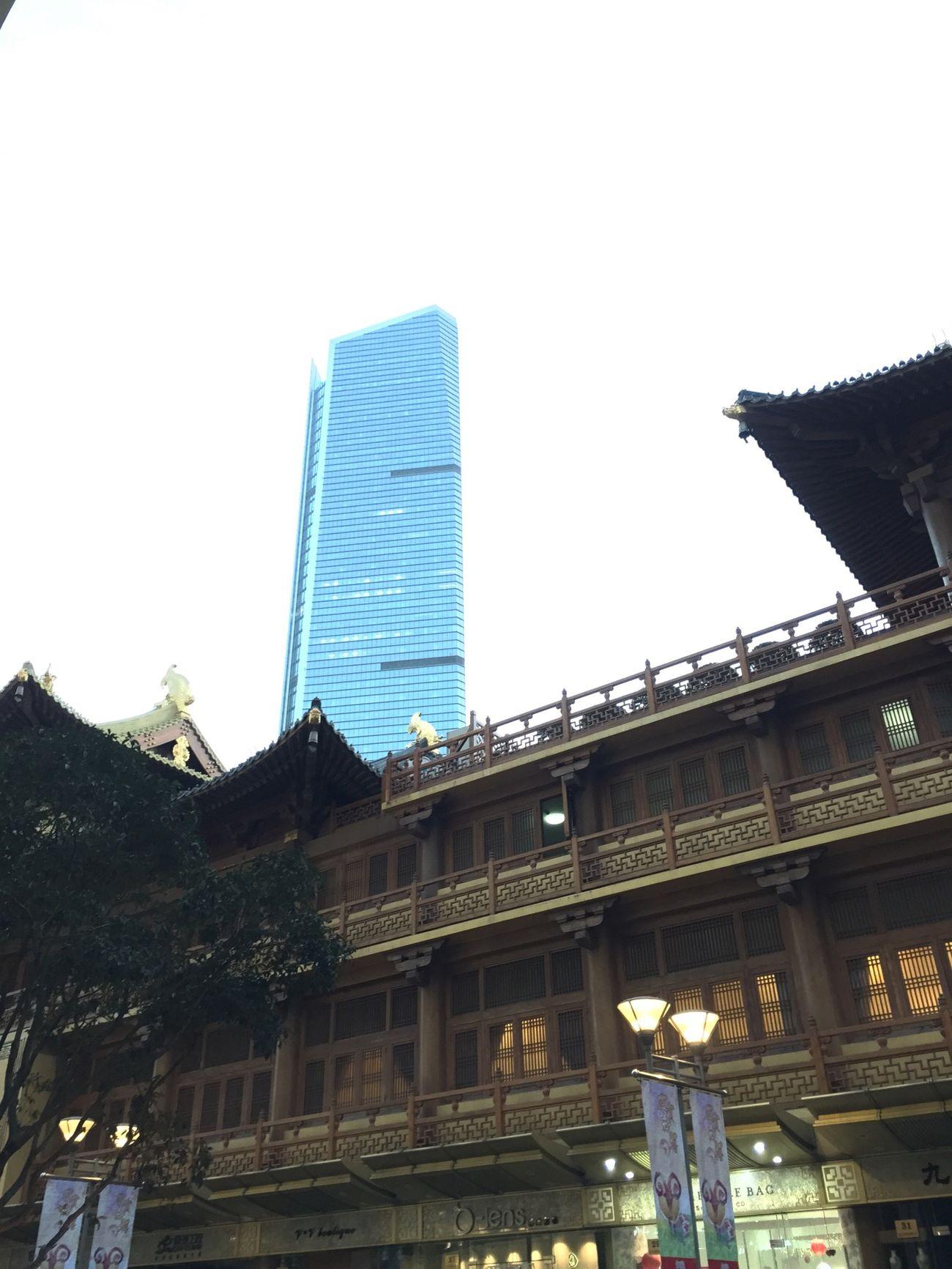 Modern city, ancient glory. Happy CNY!