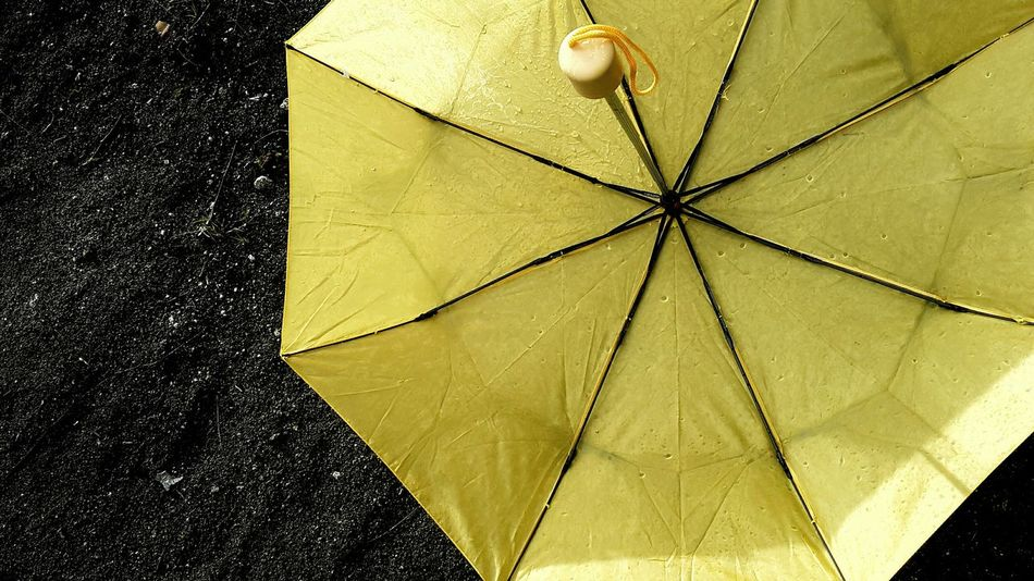 Umbrella Street Stone Yellow Contrast Grey Greysky Darkness And Light Greyandyellow Hard Colorful Color Of Life Decently Asphalte Solitude Outdoors Road Decent Playing With Colours Tears Of Heaven  Teardrops