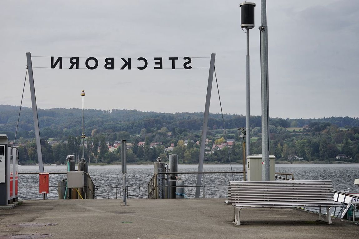 Berth Bodensee Bodenseeregion Bootssteg No People Pier Steckborn Thurgau Untersee Water Waterfront