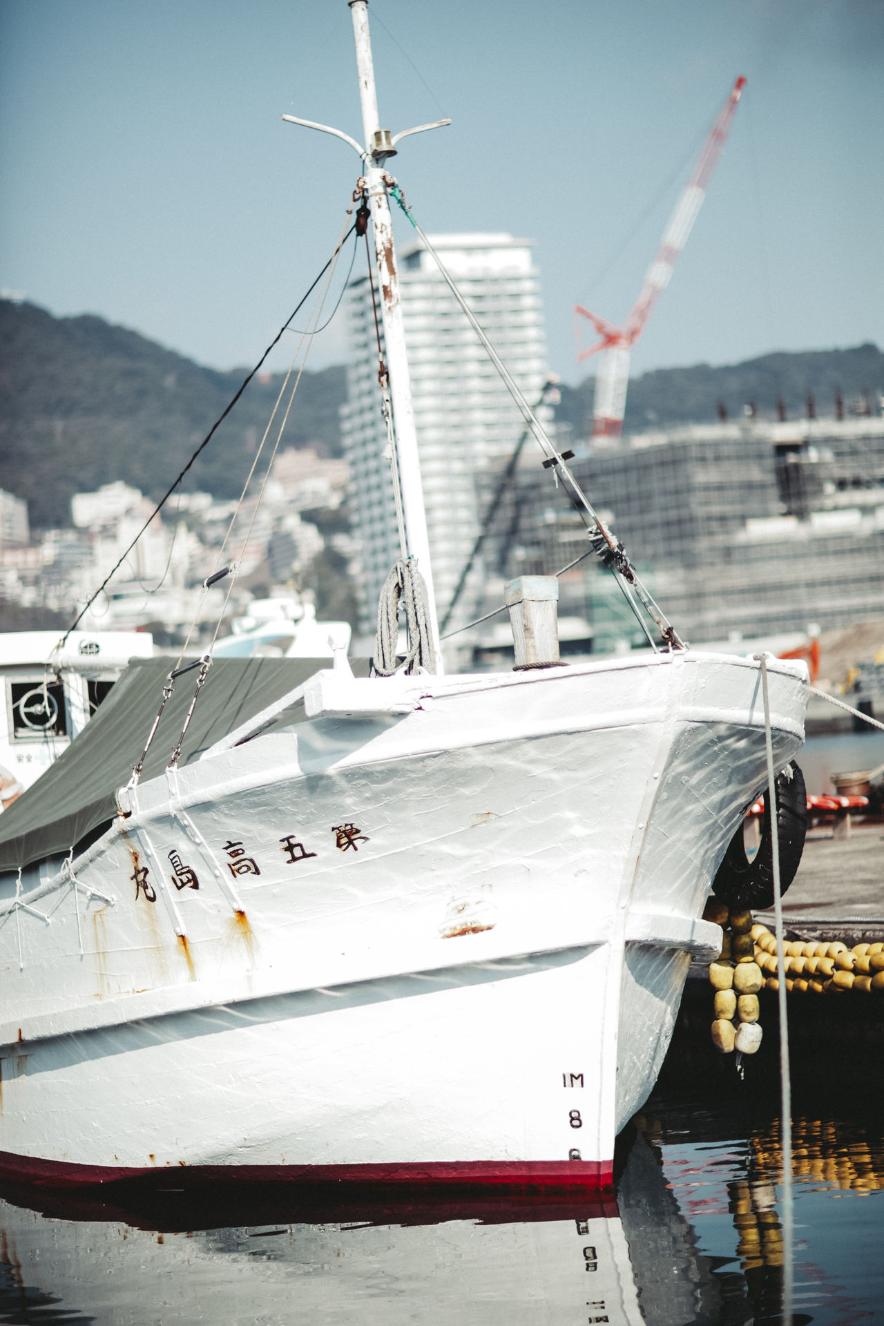 Bay Boat Day Japan Japan Photography Means Of Transport Ocean Outdoors Quay Sea Ship Spring Summer Transportation