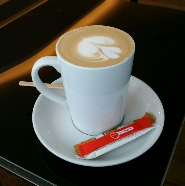 Coffee - Drink Coffee Lover Cafe Latte Excellent Barrister Service Coffee ☕ Best Coffee @ Airport Relaxing Trip Photos Cape Town Beauty South Africa