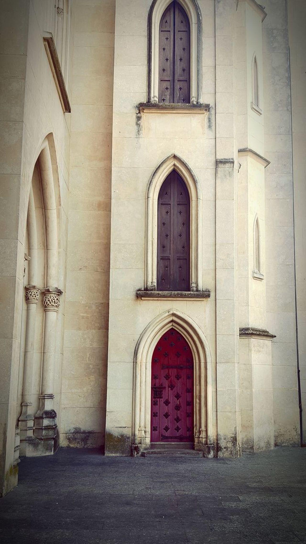 Church Closed Window