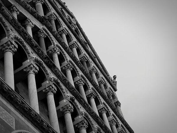 First Eyeem Photo Pisa Cathedral Black & White HuaweiP9 Monochrome Beginner Architecture EyeEmNewHere Premium Collection