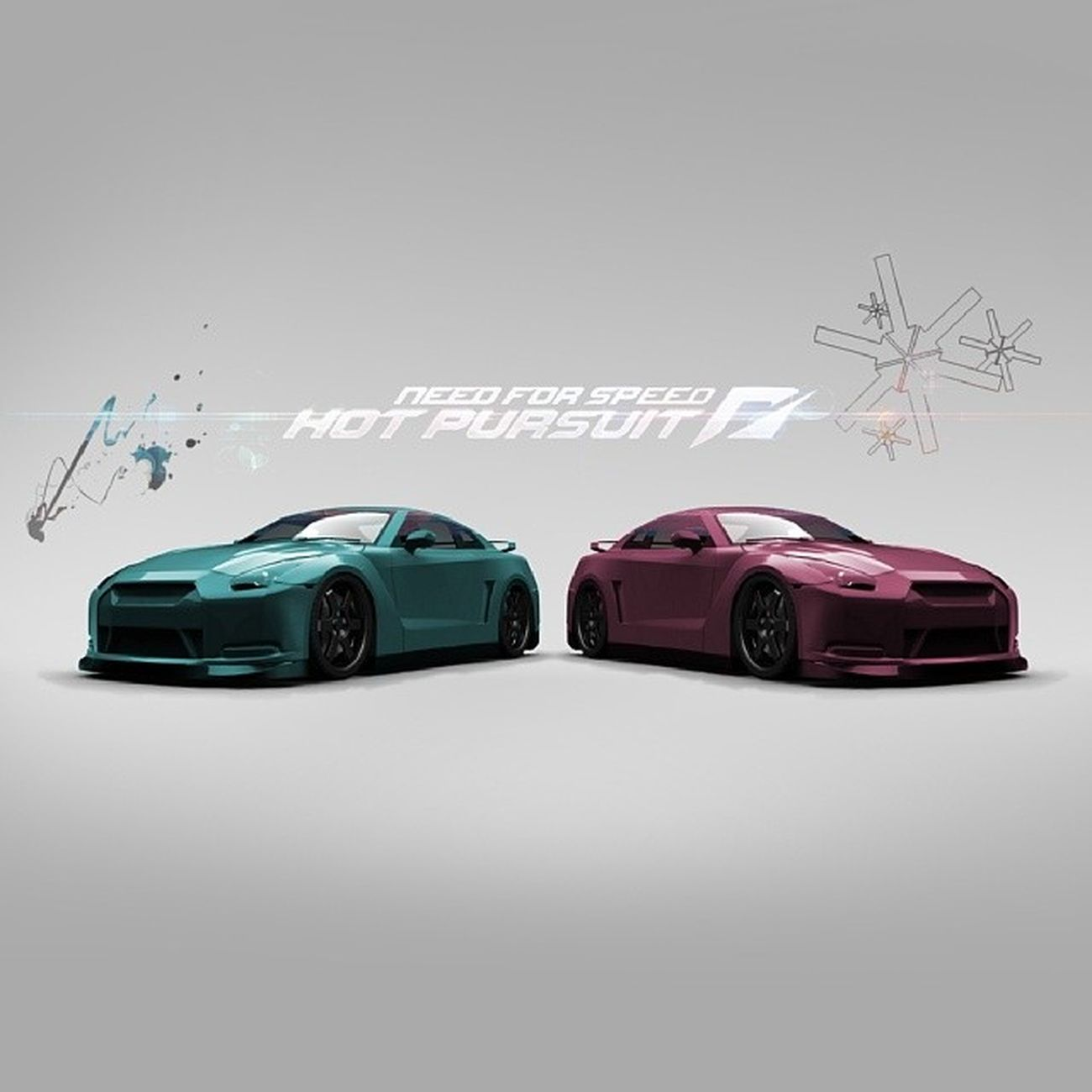 Need For Speed : Hot Pursuit Presented to @accelerationation NFS HotPursuit  Photoshop Edited cars vehicle game race