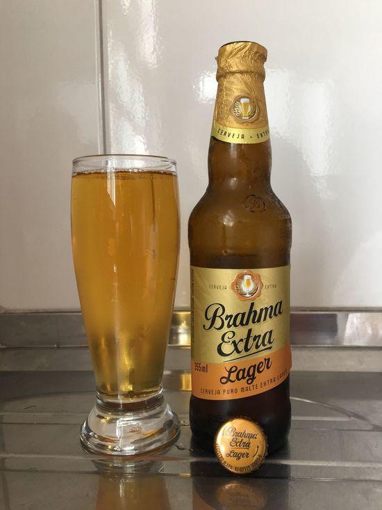 Brahma Extra Lager CERVEJASESPECIAIS Brahma Brahmaextra Cerveja Degustation Beer