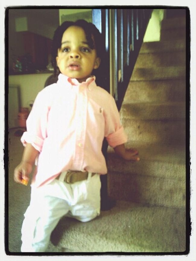 My son bubba on his grown man....