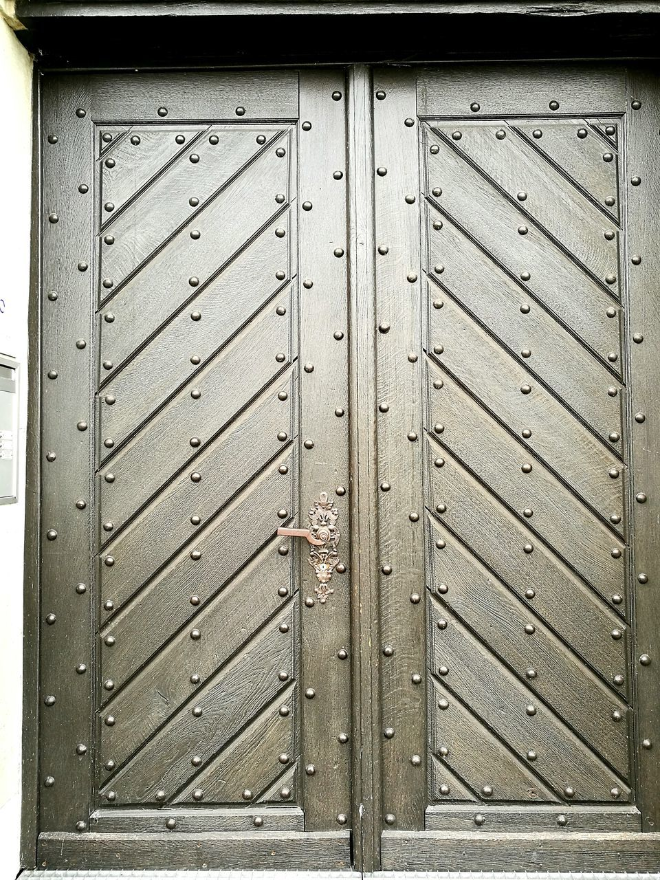 closed, door, security, safety, protection, wood - material, lock, metal, pattern, outdoors, full frame, entrance, day, no people, backgrounds, close-up, textured, latch