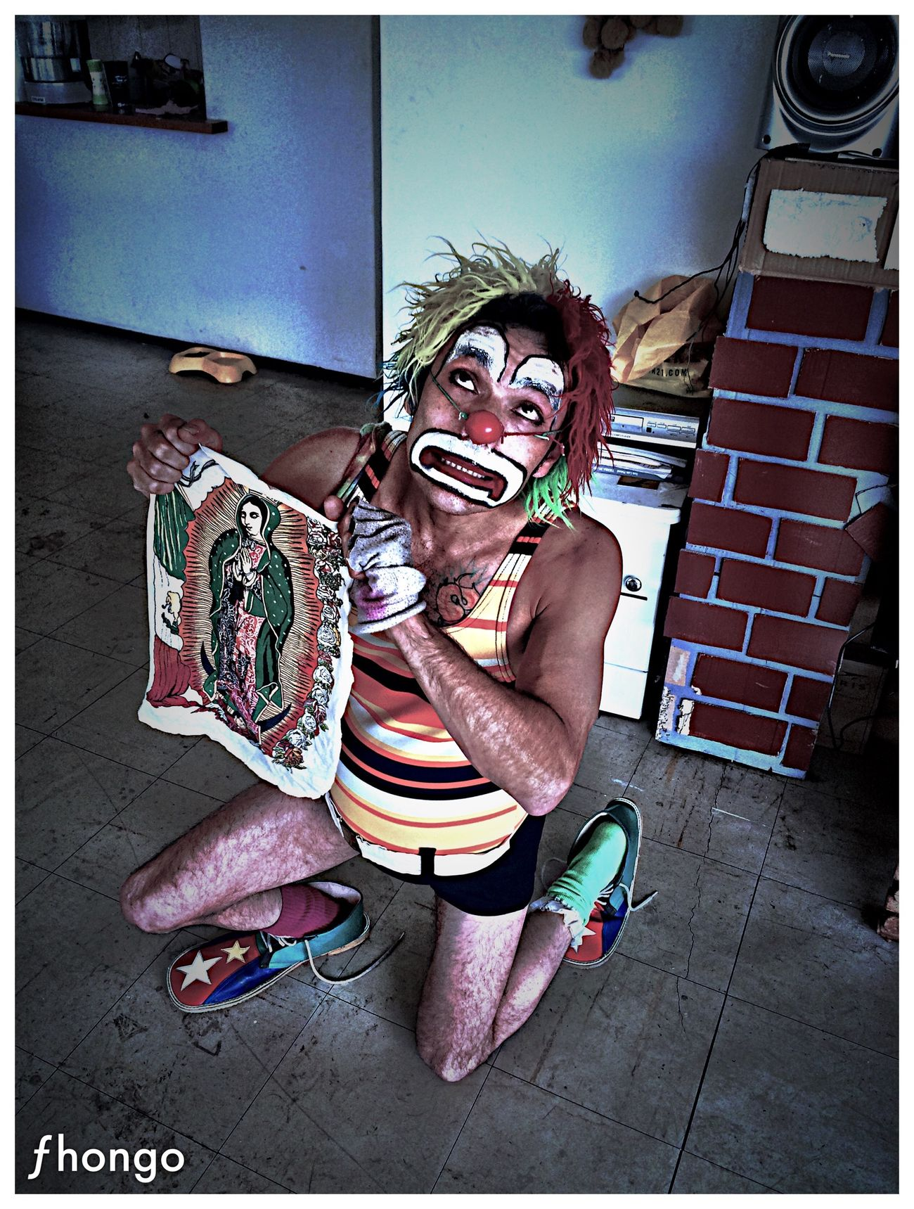 Virgin  Maria The Photojournalist - 2015 Eyeem Awar Begging Clown Clowns Payaso Payasos The Moment - 2015 EyeEm Awards The Portraitist - 2015 EyeEm Awards