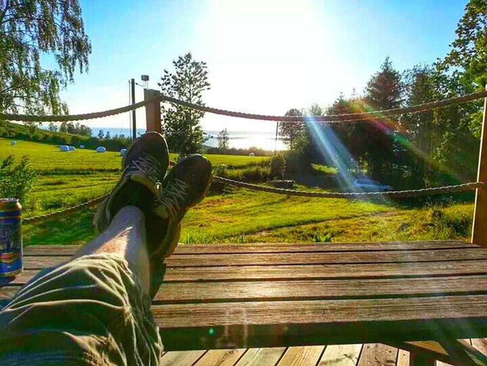 Relaxing Sun Rays Art Home Sweet Home