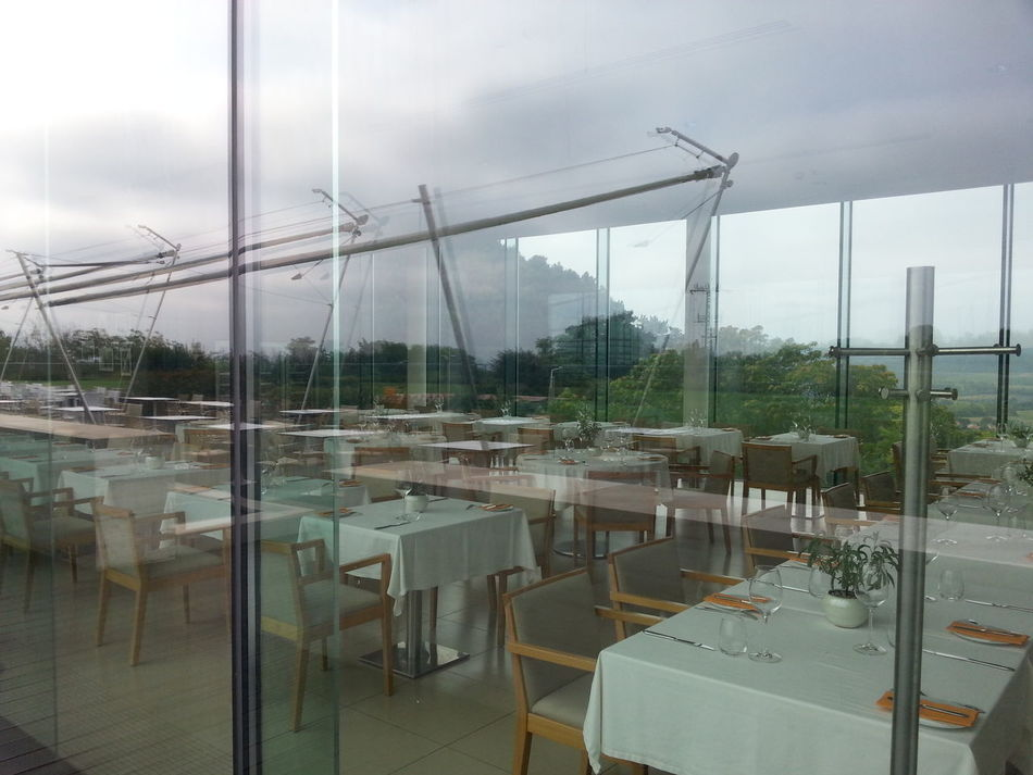 Modern Architecture Restaurant Pannonhalma Hungary Glasses Reflect View Thearchitect-2016-eyeemawards Fine Art Photography