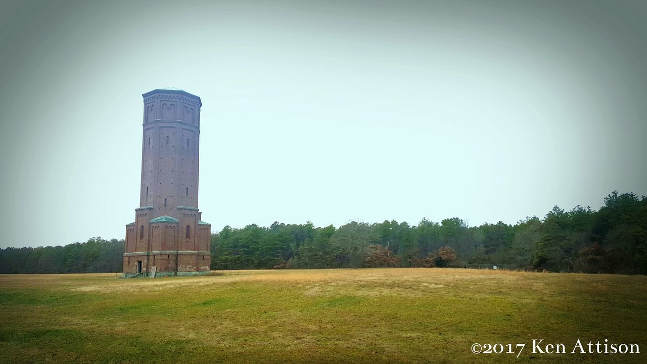 Water Tower Architecture Outdoors Day Abandoned Ghosts Of The Past Forgotten Places  Pilgrim State Hospital Haunting  Building Exterior Lost Places