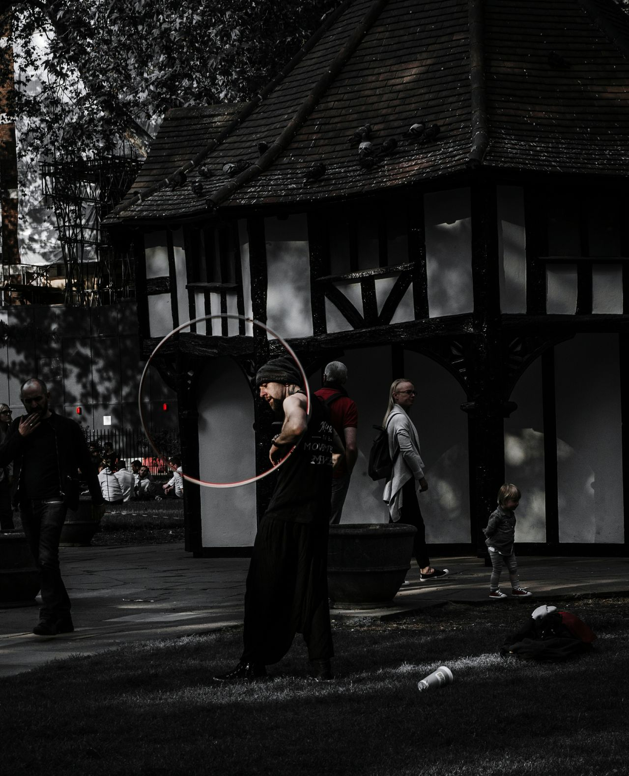 The Street Photographer - 2016 EyeEm Awards The Photojournalist - 2016 EyeEm Awards London Street Photography London Street Photography Streetphotography Nikonphotography Nikon D5100  Visual Storytelling Hullahoop Performer  People And Places IN THE STREETS Fine Art Photography